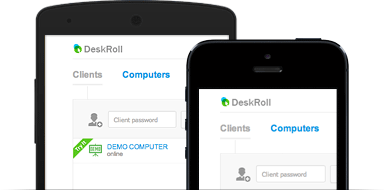 DeskRoll Remote Desktop - Mobiles Support